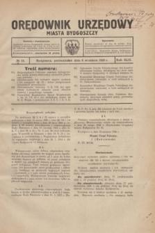 Orędownik Urzędowy Miasta Bydgoszczy.R.43, № 10 (6 września 1926)