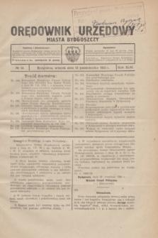 Orędownik Urzędowy Miasta Bydgoszczy.R.43, № 12 (12 października 1926)