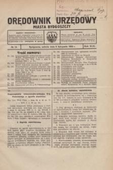 Orędownik Urzędowy Miasta Bydgoszczy.R.43, № 13 (6 listopada 1926)