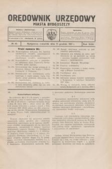 Orędownik Urzędowy Miasta Bydgoszczy.R.44, № 20 (15 grudnia 1927)