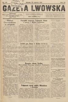 Gazeta Lwowska. 1929, nr143