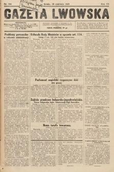 Gazeta Lwowska. 1929, nr144