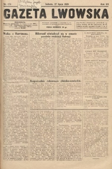 Gazeta Lwowska. 1929, nr170