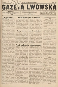 Gazeta Lwowska. 1929, nr174