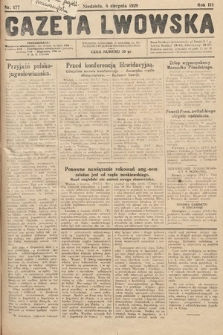 Gazeta Lwowska. 1929, nr177