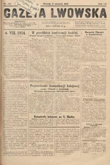 Gazeta Lwowska. 1929, nr178