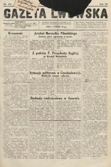 Gazeta Lwowska. 1929, nr218