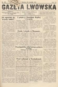 Gazeta Lwowska. 1929, nr219