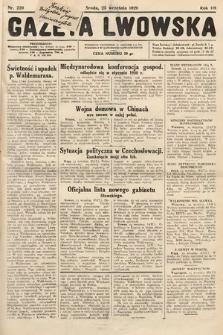 Gazeta Lwowska. 1929, nr220