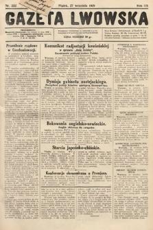 Gazeta Lwowska. 1929, nr222