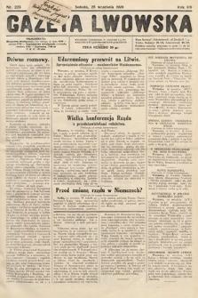 Gazeta Lwowska. 1929, nr223