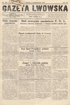 Gazeta Lwowska. 1929, nr225
