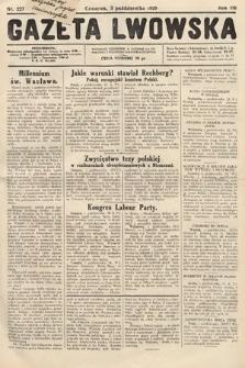 Gazeta Lwowska. 1929, nr227