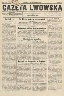 Gazeta Lwowska. 1929, nr229