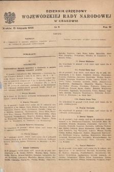 Dziennik Urzędowy Wojewódzkiej Rady Narodowej w Krakowie. 1955, nr11 |PDF|