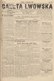 Gazeta Lwowska. 1929, nr252