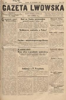 Gazeta Lwowska. 1929, nr261