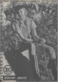 Raz, Dwa, Trzy : ilustrowany kuryer sportowy. 1934, nr15