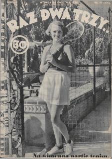 Raz, Dwa, Trzy : ilustrowany kuryer sportowy. 1934, nr17