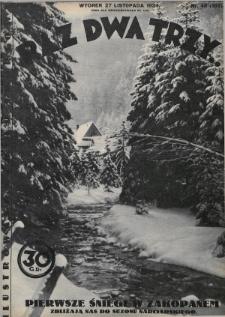 Raz, Dwa, Trzy : ilustrowany kuryer sportowy. 1934, nr48