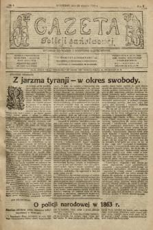 Gazeta Policji Państwowej. 1920, nr 4 |PDF|