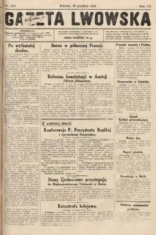 Gazeta Lwowska. 1929, nr284