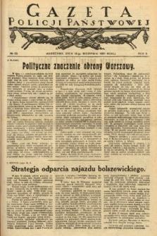 Gazeta Policji Państwowej. 1921, nr33 |PDF|