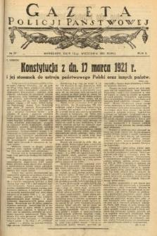 Gazeta Policji Państwowej. 1921, nr37  PDF 