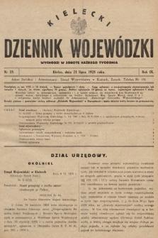 Kielecki Dziennik Wojewódzki. 1928, nr19 |PDF|