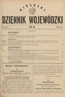 Kielecki Dziennik Wojewódzki. 1929, nr8 |PDF|