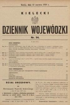 Kielecki Dziennik Wojewódzki. 1929, nr24  PDF 