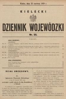 Kielecki Dziennik Wojewódzki. 1929, nr25  PDF 