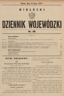 Kielecki Dziennik Wojewódzki. 1929, nr28 |PDF|