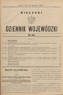 Kielecki Dziennik Wojewódzki. 1929, nr50  PDF 