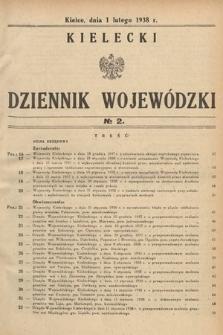 Kielecki Dziennik Wojewódzki. 1938, nr2 |PDF|