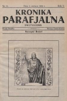 Kronika Parafjalna : dwutygodnik. 1932, nr11 |PDF|