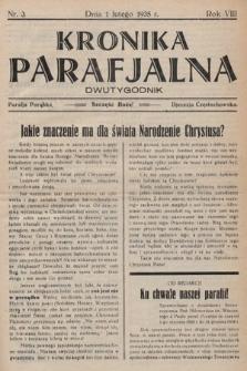 Kronika Parafjalna : dwutygodnik. 1935, nr3 |PDF|