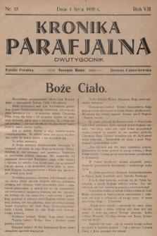 Kronika Parafjalna : dwutygodnik. 1935, nr13 |PDF|