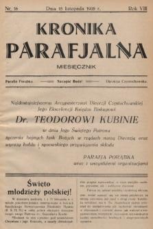 Kronika Parafjalna : dwutygodnik. 1935, nr16 |PDF|