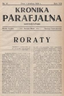 Kronika Parafjalna : dwutygodnik. 1935, nr17  PDF 
