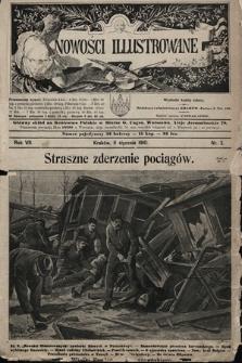 Nowości Illustrowane. 1910, nr2 |PDF|