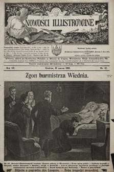 Nowości Illustrowane. 1910, nr12  PDF 