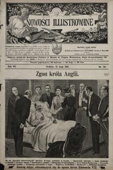 Nowości Illustrowane. 1910, nr20 |PDF|