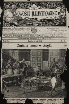 Nowości Illustrowane. 1910, nr21 |PDF|