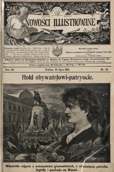 Nowości Illustrowane. 1910, nr30 |PDF|