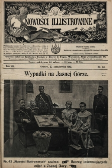 Nowości Illustrowane. 1910, nr43  PDF 