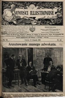 Nowości Illustrowane. 1910, nr46 |PDF|