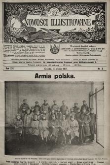 Nowości Illustrowane. 1917, nr5 |PDF|