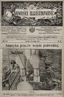 Nowości Illustrowane. 1917, nr6 |PDF|