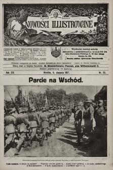 Nowości Illustrowane. 1917, nr32 |PDF|